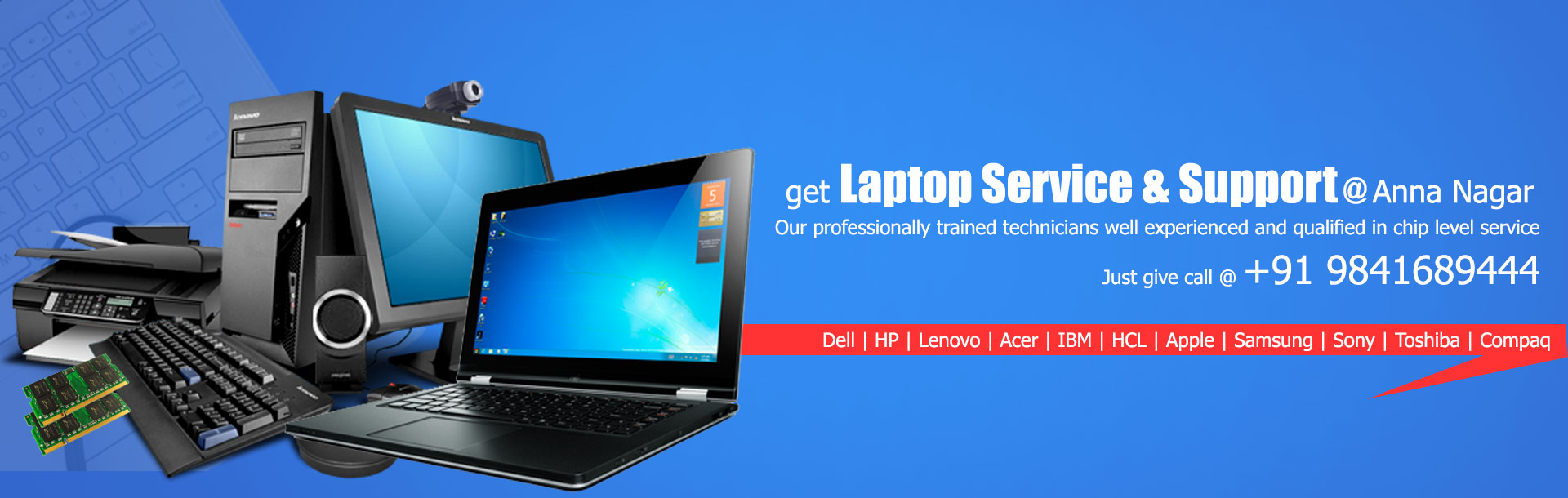 laptop service center in anna nagar, dell, hp, lenovo, acer